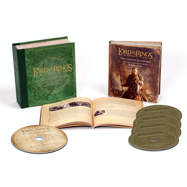 Howard Shore LORD OF THE RINGS: RETURN OF THE KING: COMPLETE CD