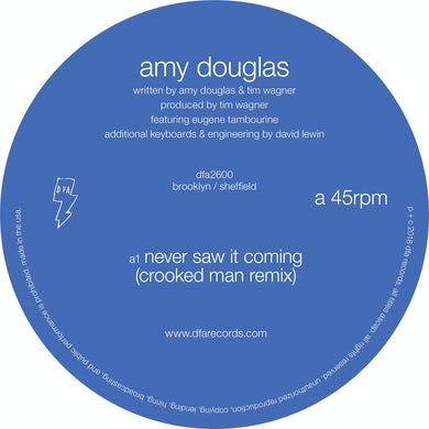 Amy Douglas NEVER SAW IT COMING Vinyl Record