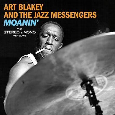 Art Blakey / Jazz Messengers MOANIN: THE ORIGINAL STEREO & MONO VERSIONS  (180G/VIRGIN VINYL/DMM) Vinyl Record