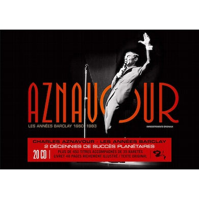 Charles Aznavour LES ANNEES BARCLAY CD