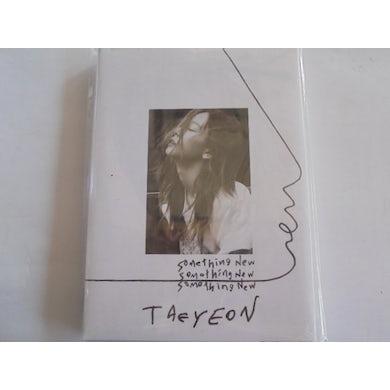 Taeyeon SOMETHING NEW (TAIWAN VERSION) CD