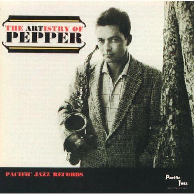 Art Pepper ARTISTRY OF PEPPER Vinyl Record - Limited Edition, 180 Gram Pressing, Remastered, Spain Release