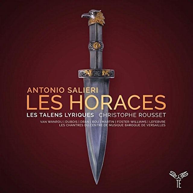 Christophe Rousset SALIERI: LES HORACES CD