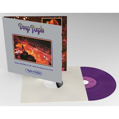 Deep Purple MADE IN EUROPE Vinyl Record