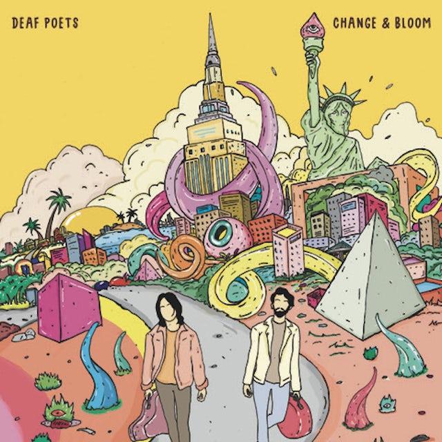 Deaf Poets CHANGE & BLOOM CD