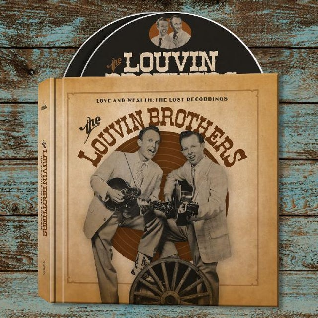 Louvin Brothers LOVE & WEALTH: THE LOST RECORDINGS CD