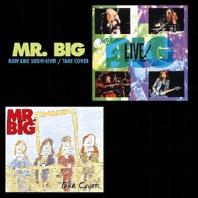 Mr Big RAW LIKE SUSHI: LIVE / TAKE COVER CD