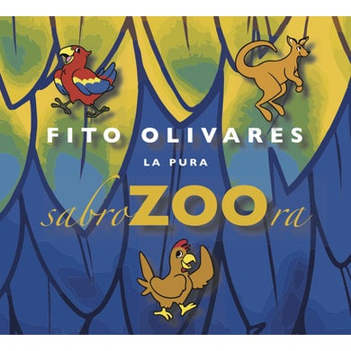 Fito Olivares La Pura Sabrzoora CD