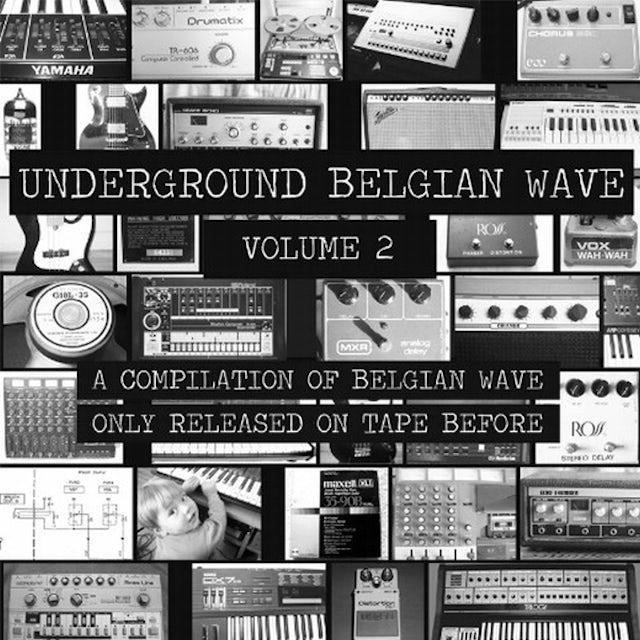 Underground Belgian Wave Volume 2 / Various Vinyl Record