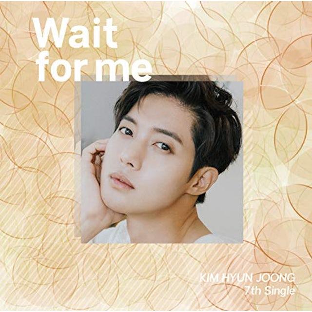 Kim Hyun Joong WAIT FOR ME (VERSION D) CD