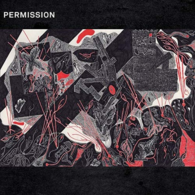 Permission DRAWING BREATH THROUGH A HOLE IN THE GROUND Vinyl Record