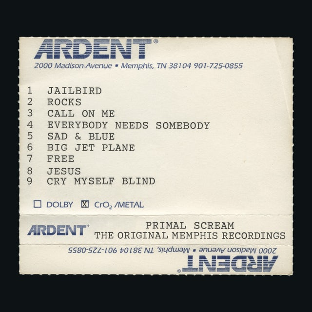 Primal Scream GIVE OUT BUT DON'T GIVE UP: THE ORIGINAL MEMPHIS CD