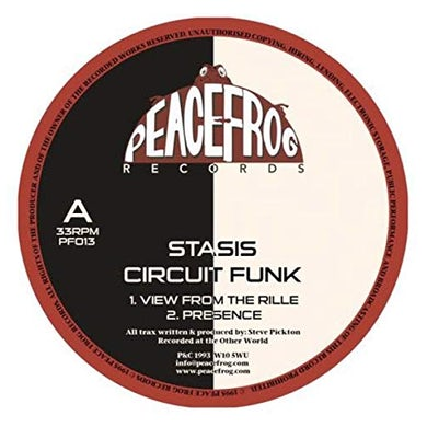 Stasis CIRCUIT FUNK Vinyl Record