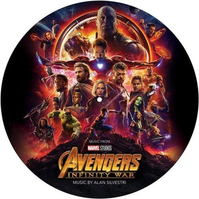 Alan Silvestri AVENGERS: INFINITY WAR / O.S.T. Limited Edition Picture Disc Vinyl Record