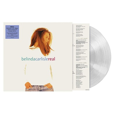 Belinda Carlisle REAL - Limited Edition Silver Colored Vinyl Record