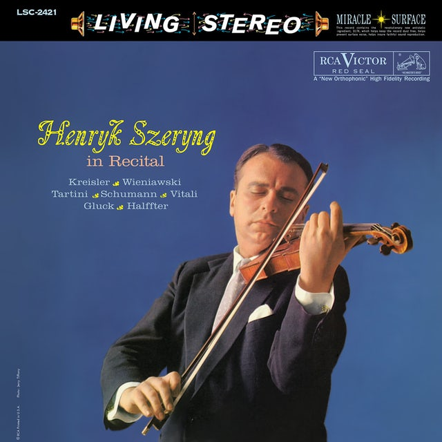 Henryk Szeryng IN RECITAL Vinyl Record