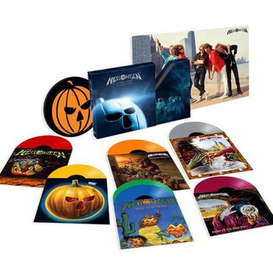 Helloween STARLIGHT - Deluxe Limited Edition Colored Vinyl Record Box Set