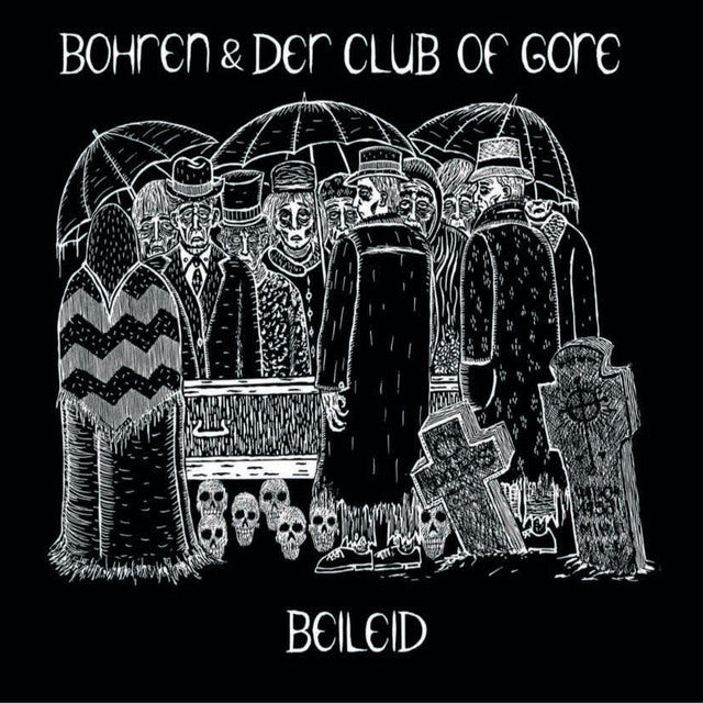 Bohren & Der Club Of Gore BEILEID Vinyl Record