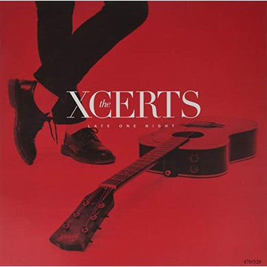 The XCERTS LATE ONE NIGHT Vinyl Record