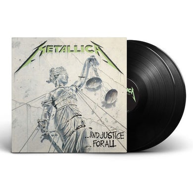 Metallica JUSTICE FOR ALL - 180 Gram Double LP Vinyl Record