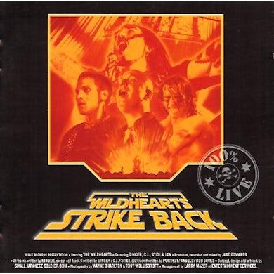 The Wildhearts STRIKE BACK Vinyl Record