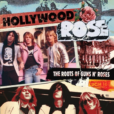 Hollywood Rose THE ROOTS OF GUNS N' ROSES - Limited Edition Colored Vinyl Record