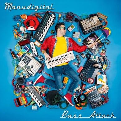 Manudigital  BASS ATTACK Vinyl Record