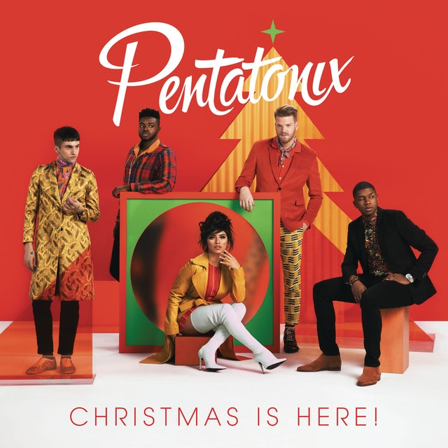 Pentatonix CHRISTMAS IS HERE CD