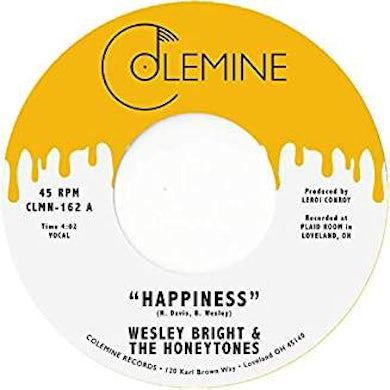 Wesley Bright & Honeytones HAPPINESS Vinyl Record