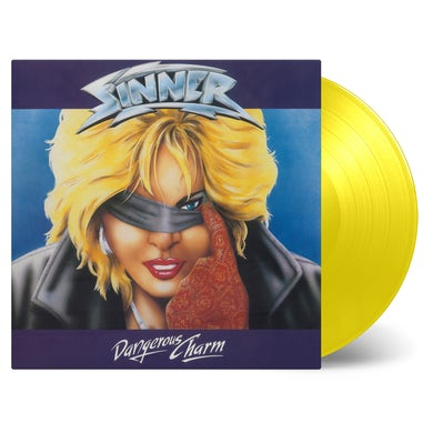Sinner DANGEROUS CHARM - Limited Edition 180 Gram Yellow Colored Vinyl Record