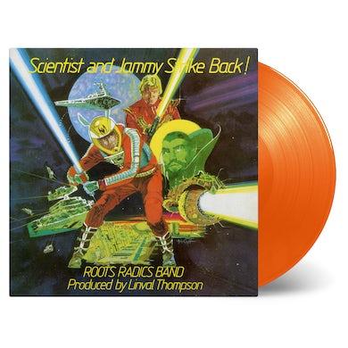 SCIENTIST & PRINCE JAMMY STRIKE BACK! - Limited Edition 180 Gram Orange Colored Vinyl Record