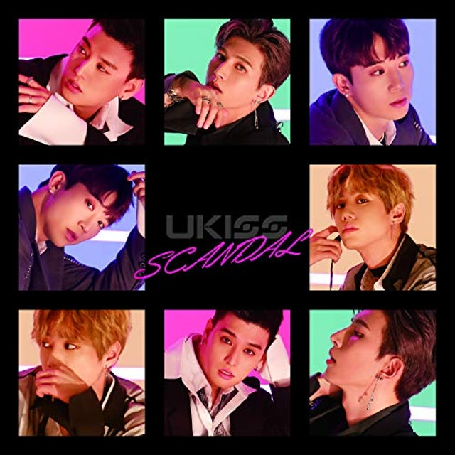 U-KISS SCANDAL CD