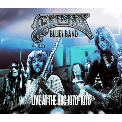 Climax Blues Band LIVE AT THE BBC 1970-1978 Vinyl Record