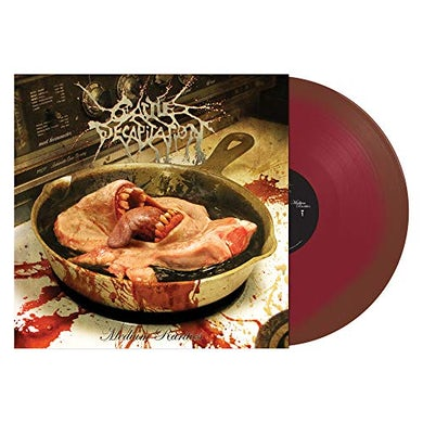 Cattle Decapitation MEDIUM RARITIES - Limited Edition Red & Grease Colored Vinyl Record