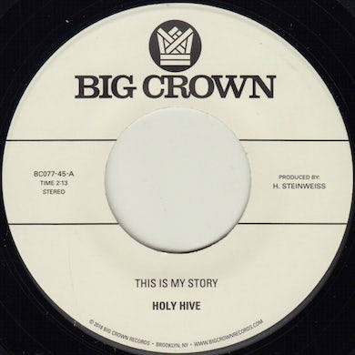 Holy Hive THIS IS MY STORY / BLUE LIGHT Vinyl Record