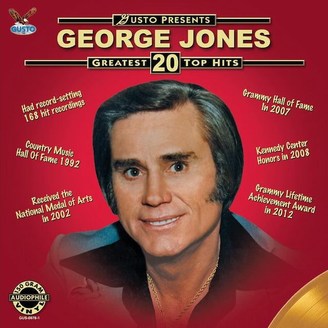 George Jones GREATEST 20 TOP HITS Vinyl Record