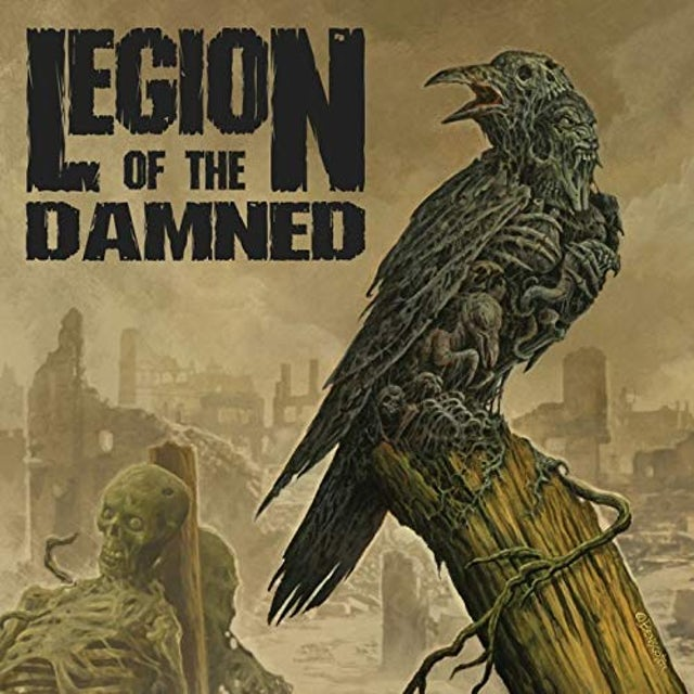 Legion Of The Damned RAVENOUS PLAGUE Vinyl Record