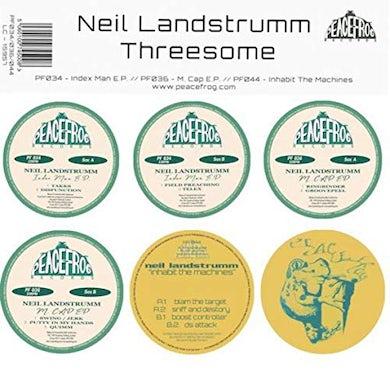 Neil Landstrumm THREESOME Vinyl Record