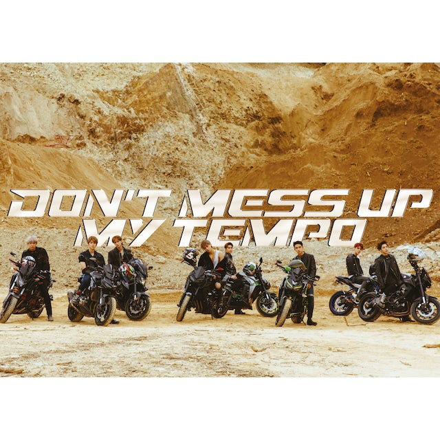 EXO THE 5TH ALBUM 'DON'T MESS UP MY (MODERATO VER) CD