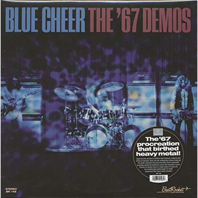 Blue Cheer '67 DEMOS Vinyl Record