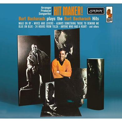 Burt Bacharach HIT MAKER CD