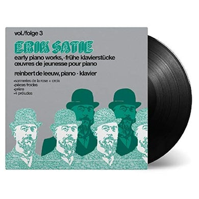 SATIE: EARLY PIANOWORKS VOL 3 Vinyl Record
