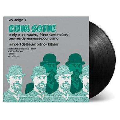 Erik Satie SATIE: EARLY PIANOWORKS VOL 3 Vinyl Record