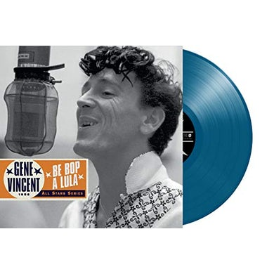 Gene Vincent BE BOP A LULA: 1956 Vinyl Record