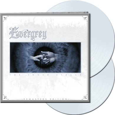 Evergrey THE INNER CIRCLE - Gatefold White Colored Double Vinyl Record