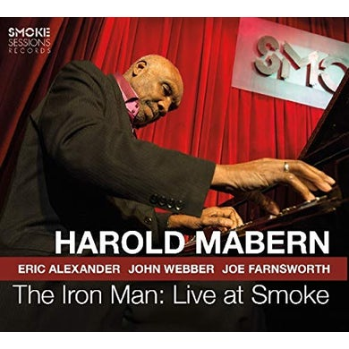Harold Mabern IRON MAN: LIVE AT SMOKE CD