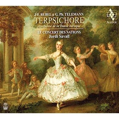 Jordi Savall TERPSICHORE - APOTHIOSE DE LA DANSE BAROQUE (SACD)