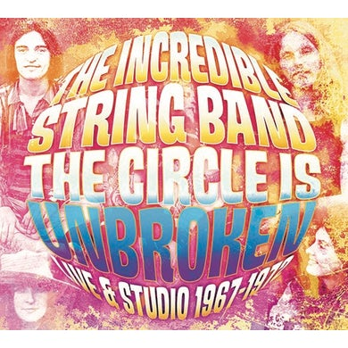 Incredible String Band CIRCLE IS BROKEN LIVE & IN STUDIO CD