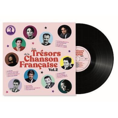Fabien Lecoeuvre LES TRESORS DE LA CHANSON FRANCAISE VOL 2 Vinyl Record