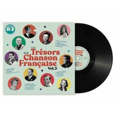 Fabien Lecoeuvre LES TRESORS DE LA CHANSON FRANCAISE VOL 3 Vinyl Record